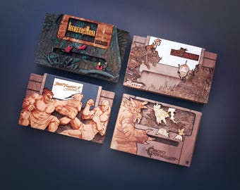 I'll make your favorite Super Nintendo game into a Raspberry Pi Zero Case + Stand