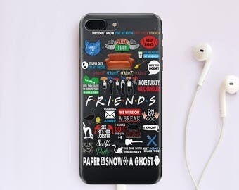 Friends iPhone 7 Case iPhone 6 Case iPhone 6S Case TV Show Samsung S8 Plus iPhone 7 Plus Case iPhone 5S Case iPhone 8 Case iPhone X CC1241