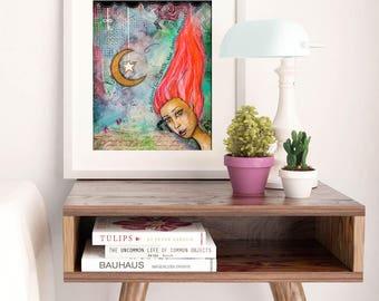 TRUTH | Inspiring Wall Art | Whimsical Art | Inspiring Quotes | Boho Decor | Fairy Print