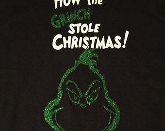 How The Grinch Stole Christmas T-shirt