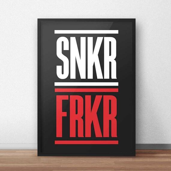 SNKR FRKR | Wall Art | Poster