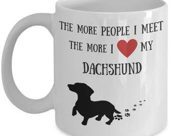 Dachshund lover gift | Etsy