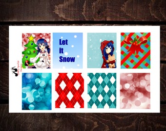 Christmas Anime Erin Condren Weekly Kit
