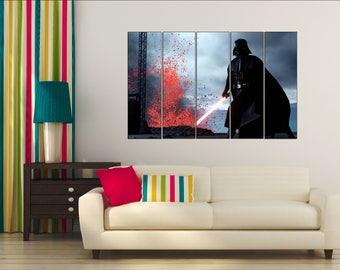 Darth Vader, Darth Vader canvas Darth Vader art, Star Wars art, Darth Vader poster, Star wars canvas, Star Wars print,  Darth Vader wall art