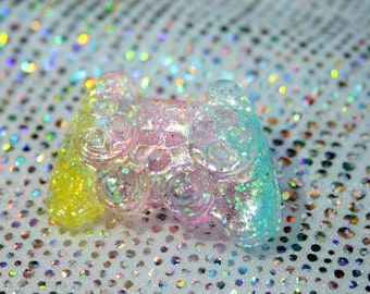 Candy Floss Pastel Resin Controller Pin
