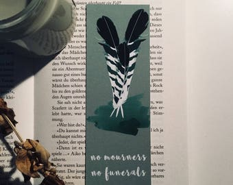 No Mourners No Funerals Six of Crows Bookmark