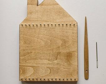 Pre-order• Little House Sculptural Weaving Kit for Children <<Walnut>>