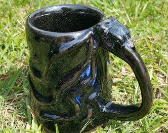 Galaxy Octopus Mug