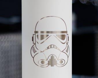 Stormtrooper Beer Growler Stainless Steel 64 oz