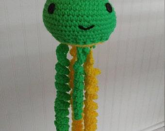 Crochet Jellyfish / Baby shower  gift / Jellyfish Mobile / Jellyfish Toy / Amigurumi  Crochet