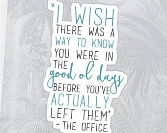 Good Ol' Days - The Office Sticker