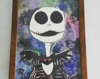Jack Skellington Watercolor
