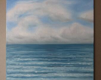 Calm Seas - Oil on Canvas - 40x40cm