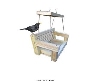 Garden Bench Bird feeder