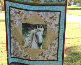 Horse Quilt-Windy filly