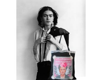 """Frida"" cotton shopping bag"