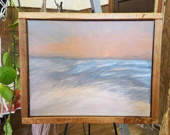 "11""x14"" Acrylic Medium Canvas Painting"