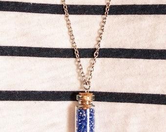 Unique Cork Bottle Necklace