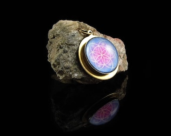 The Flower of Life - Sacred Geometery Pendant