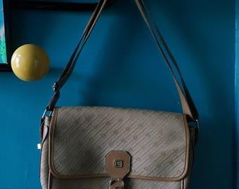 vintage Pierre Cardin handbag monogram bag 1970s 1980s 70s 80s