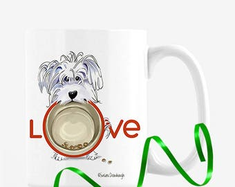 Pet Lover Valentine Gift / Dog Gift / Pet Lover / Personalized / Maltese Lover