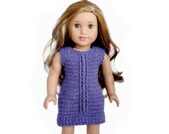 """Download Now - CROCHET PATTERN 18"""" Doll Emry Dress Crochet Pattern"""