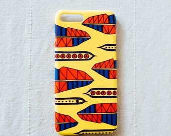 Plant Something Daily Phone Case in Yellow