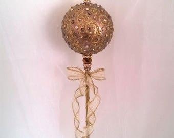 Gold Fairy Princess/Queen Wand/Scepter