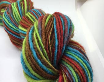 Hand Spun & Hand Dyed Merino Wool