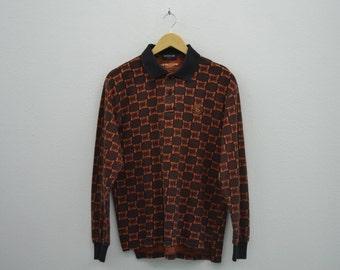 Kensho Abe Sport Vintage Polo Shirt Mens Size S/M