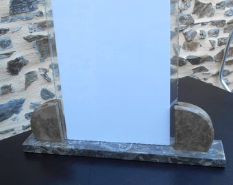 Vintage French Art Deco Photo Frame - Mirrored edging...