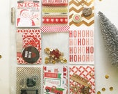 Surprise Pocket Letter: planning embellishment kits. Pocket PenPal Letters