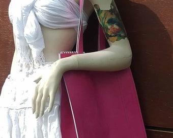 Roze Maandag 2017_01_Lederen-Leer Schouder-/handtas_Tilburgs Kermis_ Pink Monday  2017 Leather Shoulder-/handbag