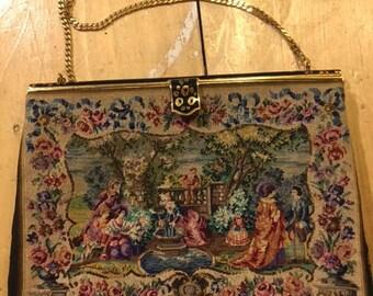 Pochette tapisserie HENRY A LA PENSEE