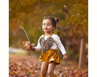 Baby romper, Mustard Romper, floral Romper, Vintage Romper, Floral, Baby Playsuit, Classic Playsuit, Toddler Romper, Handmade, Bubble Romper