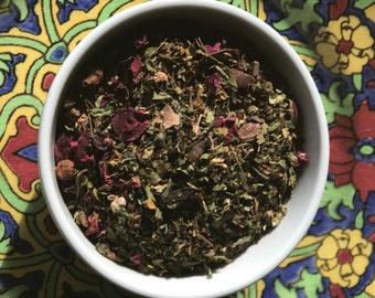 Heart Chakra loose leaf tea blend 70gms