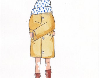 Yellow Coat illustration