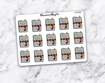 PLANNER HARRY POTTER Stickers (Choose your HP Home)