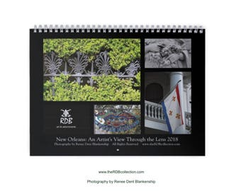 2018 New Orleans Calendar
