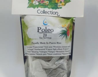 Poleo Tea, Mexican Oregano Tea (Lippia graviolens) 20 Servings