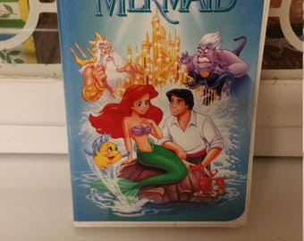 Little Mermaid Banned VHS
