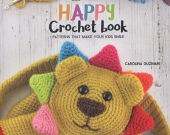 Happy Crochet Book - PDF ebook - Crochet ebook - Instant download - pdf file
