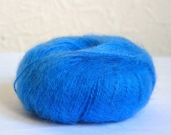 Italian mohair yarns, 25g / 0.88 oz balls