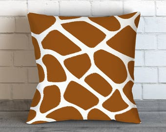 Giraffe Pillow | Giraffe Bedding | Giraffe Scales Pillow | Giraffe Dragon Pillow | Giraffe Print Pillow Case | Giraffe Pillow Case | Giraffe
