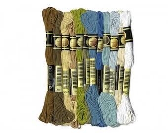 12 skeins 8 m Pure Cotton yarn