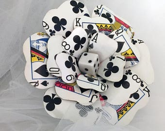 Playing Card Flower