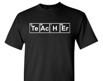 Teacher Element Shirt, Teacher Shirt, Teacher Gift, Gift For Teacher, Professor Gift, Student Gift, Teaching Gift, Student Teacher