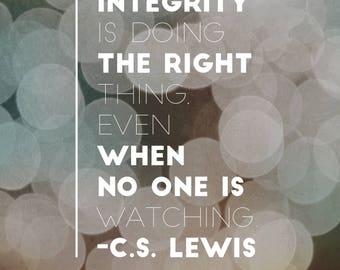 Quote Magnet- C.S. Lewis