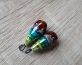 art bells beads porcelain components for jewelry making porcelain  supplies ceramic  best gift zolanna boho jewelry earrings