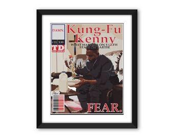 Kendrick Lamar Kung Fu Kenny #11 FEAR.  Comic Print